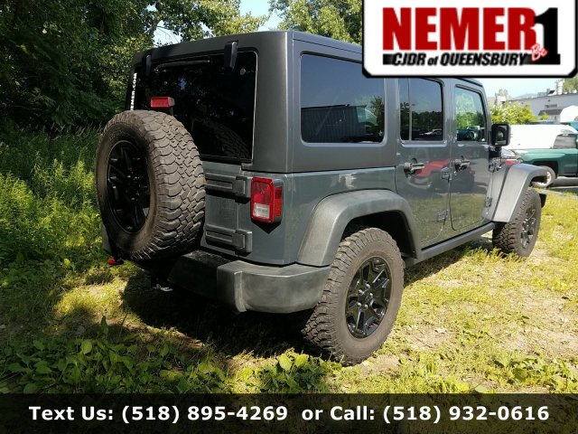 Pre-Owned 2016 Jeep Wrangler Unlimited Willys Wheeler Hard / Soft Tops